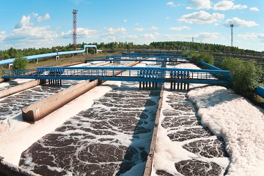 Traitement des eaux usées municipales - Biologique