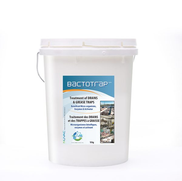 Bactotrap_treatment of drains and grease traps.