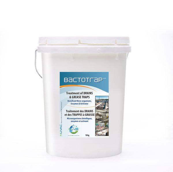 Bactotrap_traitement des drains et trappes à graisse.