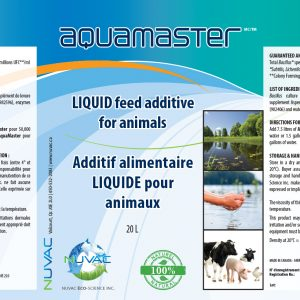 Additif alimentaire pour animaux de ferme - Biologie Aquamaster
