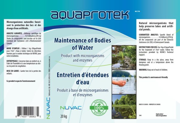 AquaProtek Pouch - Water Treatment ecofriendly