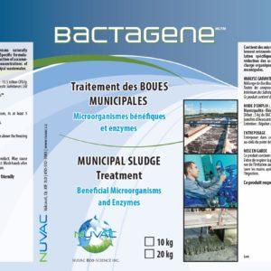bactagenePlus-Traitement des eaux usées municipales.