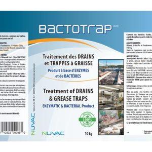 Bactotrap - Treatment of organic drains and grease traps