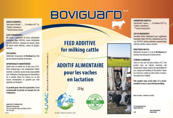 Additif alimentaire pour les vaches en lactation.