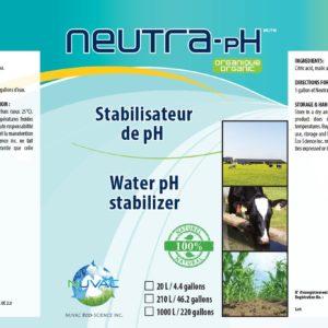 Neutralisateur pH organique
