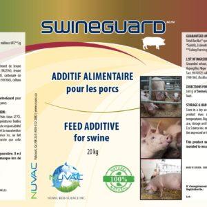 Swineguard bio. Additif alimentaire pour les porcs.